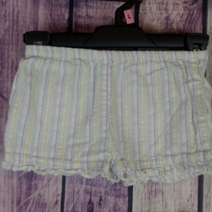 girls carters striped shorts 6-9 month N32